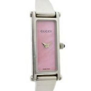 Gucci Stainless Steel with Pink Mother Of Pearl Di